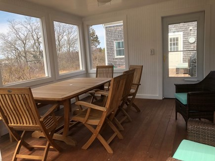 Eastham Cape Cod vacation rental - Dine on the screened in porch