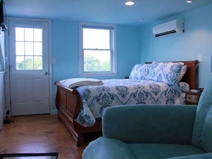 Eastham Cape Cod vacation rental - Master bedroom (overlooks water and has deck and master bath)