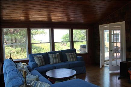 Eastham Cape Cod vacation rental - Laze in comfort and see the bay from the sunroom