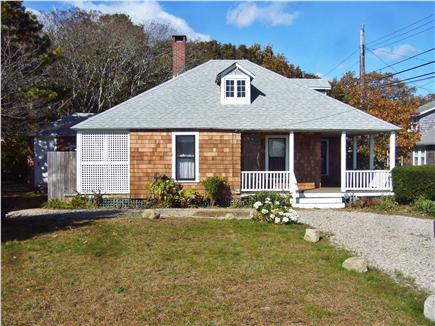 Falmouth Heights Cape Cod vacation rental - Spacious front yard (back to beach)