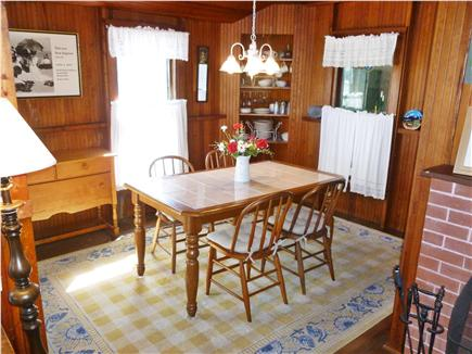 Falmouth Heights Cape Cod vacation rental - Indoor dining area (or dine outside at the porch table)