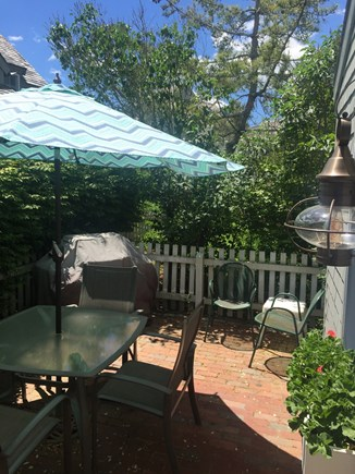 New Seabury New Seabury vacation rental - Relax on the private patio with a Weber grill.