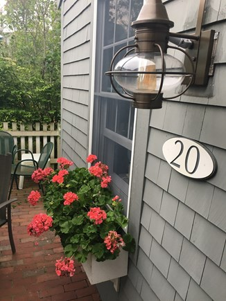 New Seabury New Seabury vacation rental - Your own garden area on the patio