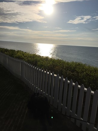 New Seabury New Seabury vacation rental - Ahhhhh late afternoon looking out to private beach.