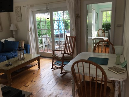 New Seabury New Seabury vacation rental - Open living space with dining area.