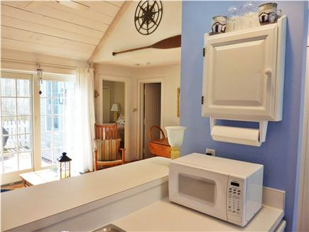 New Seabury New Seabury vacation rental - View from Kitchen -with dishwasher, washer and dryer!