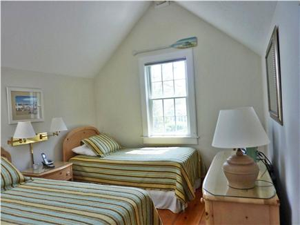 New Seabury New Seabury vacation rental - 2nd floor bedroom with 2 twin beds, flat screen tv and skylight