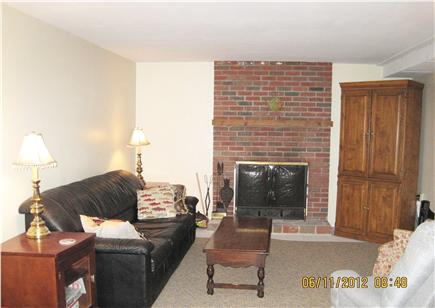 North Eastham Cape Cod vacation rental - Family Room with Queen Futon
