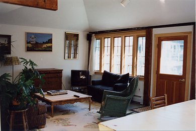Provincetown Cape Cod vacation rental - Relax in the spacious living area