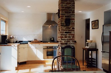Provincetown Cape Cod vacation rental - Enjoy the light filled kithchen