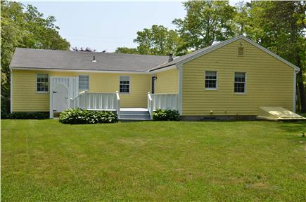 Mashpee, Popponesset Cape Cod vacation rental - Large back yard, perfect for summer BBQ's