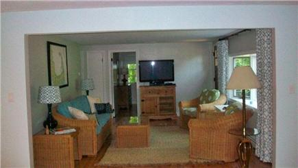 Mashpee, Popponesset Cape Cod vacation rental - Living room with flat screen TV and high speed internet