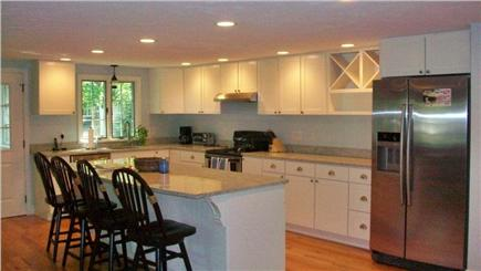 Mashpee, Popponesset Cape Cod vacation rental - Newly renovated kitchen is fully stocked & island seats 4 more