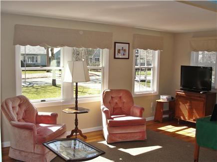 Harwich Port Cape Cod vacation rental - Living Room with full cable television