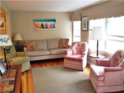 Harwich Port Cape Cod vacation rental - Living Room with beautiful natural light