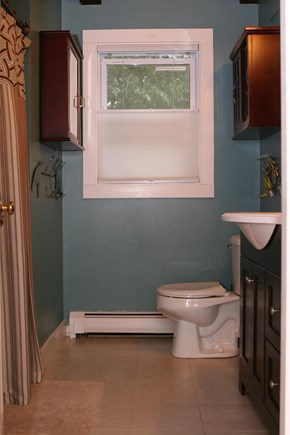 Eastham Cape Cod vacation rental - First Floor Bathroom with Full Shower/Bath
