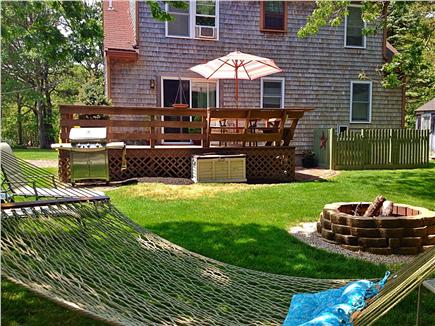 Eastham Cape Cod vacation rental - Manicured Lawn with Hammock
