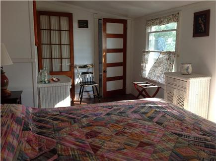 Wellfleet Cape Cod vacation rental - Second of two queen bedrooms; private full bath and water views