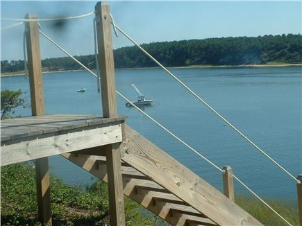 Wellfleet Cape Cod vacation rental - Stairway to Private Beach