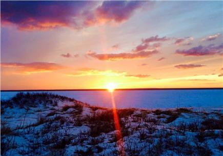 Wellfleet Cape Cod vacation rental - Sunset Winter