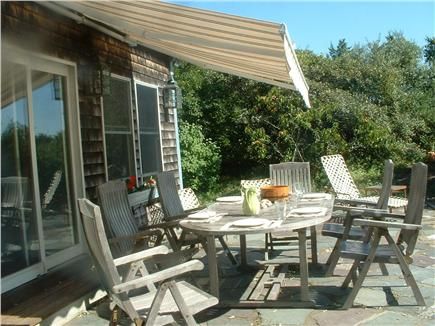 Wellfleet Cape Cod vacation rental - Outdoor dining on the patio