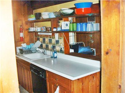 Wellfleet Cape Cod vacation rental - Galley kitchen leads to breakfast room