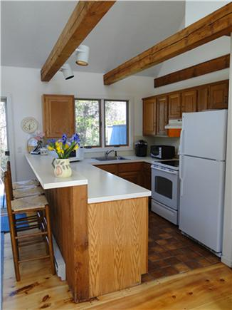 East Orleans Cape Cod vacation rental - Clean kitchen with breakfast bar seating