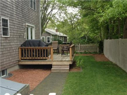 East Falmouth Cape Cod vacation rental - Deck - Picture taken prior to installment of outdoor shower.