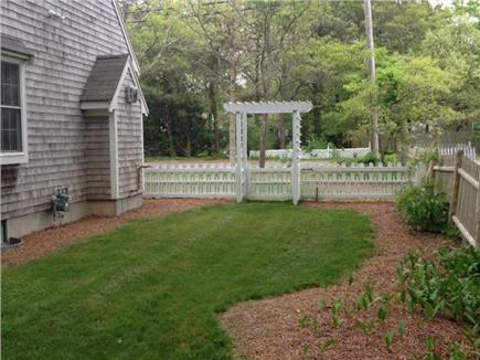 East Falmouth Cape Cod vacation rental - Beautiful back yard to enjoy
