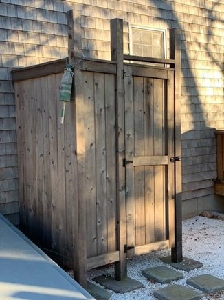 East Falmouth Cape Cod vacation rental - Outdoor Shower recently added