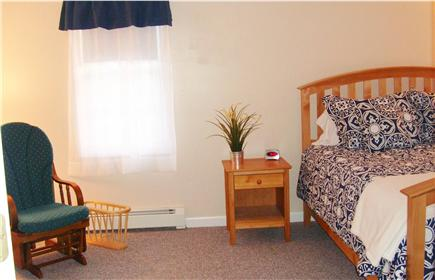 East Falmouth Cape Cod vacation rental - Bedroom 1 - Upstairs Master Bedroom Queen Bed (Window AC Unit)