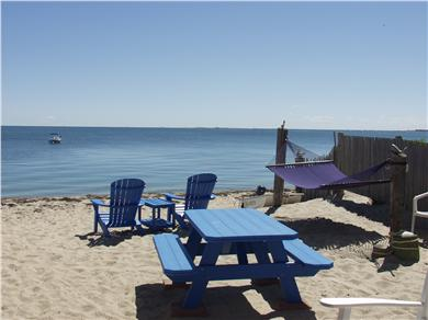 Truro Cape Cod vacation rental - Picnic table and chairs for your use