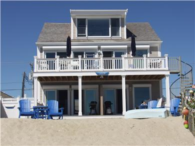 Truro Cape Cod vacation rental - Looking at A'Lure'N from our private beach