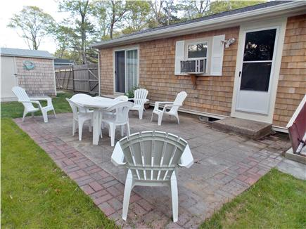 Hyannis Cape Cod vacation rental - Big back yard with patio and grill!