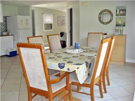 Hyannis Cape Cod vacation rental - Bright and open dining area with kitchen