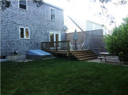 Sandwich Cape Cod vacation rental - Private/fenced backyard, deck, and propane BBQ grill