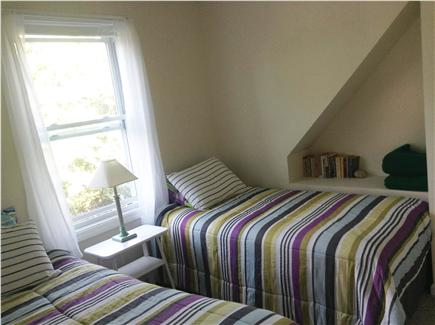Sandwich Cape Cod vacation rental - Upstairs bedroom 4: Two single beds