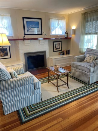 Hyannis Cape Cod vacation rental - One half of the living room