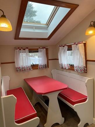 Hyannis Cape Cod vacation rental - Breakfast nook in the kitchen