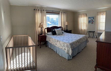 Hyannis Cape Cod vacation rental - Second bedroom with queen bed and crib