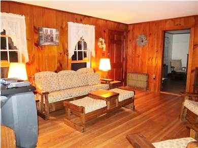 Eastham Cape Cod vacation rental - A great spot to read a book, watch tv, or play family games!