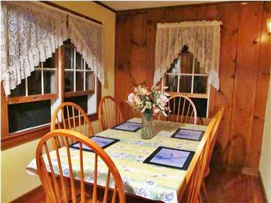 Eastham Cape Cod vacation rental - Our cozy, sweet dining room with comfortable seating for 6!