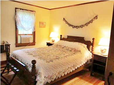 Eastham Cape Cod vacation rental - Our large bedroom with a queen-sized bed.