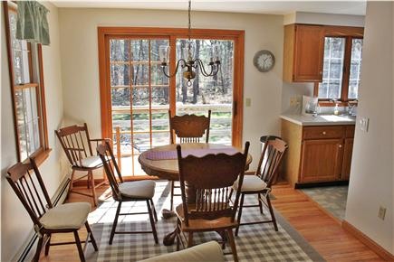 Wellfleet Cape Cod vacation rental - Dining Room with slider to deck