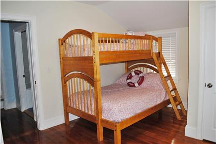 Falmouth Cape Cod vacation rental - Bedroom 3 - Bottom bunk sleeps 2 and the top sleeps 1.