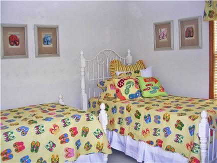Mashpee Cape Cod vacation rental - Bedroom # 3 with 2 twin beds.