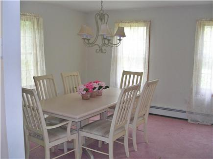 Mashpee Cape Cod vacation rental - Dining Room with seating for 6