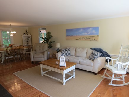 Falmouth, Sippewissett Cape Cod vacation rental - Bright open living area