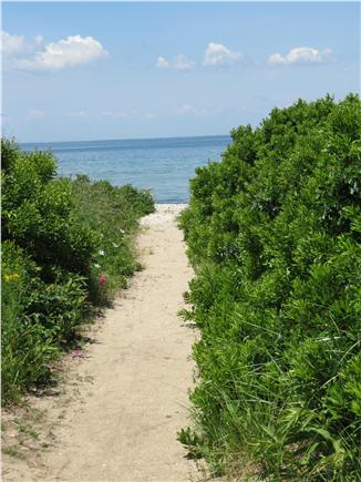 Falmouth, Sippewissett Cape Cod vacation rental - 2 minute walk to path to private beach