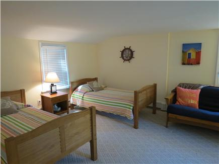 Falmouth, Sippewissett Cape Cod vacation rental - 2nd Bedroom with twin beds and futon